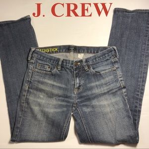 J.CREW Matchstick Stretch Blue Jeans Denim 29S